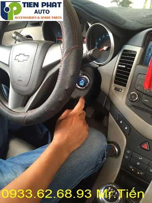 Lắp Đặt Engine Startop Smart Key Cho Chevrolet Cruze 2011 Tại Tp.Hcm