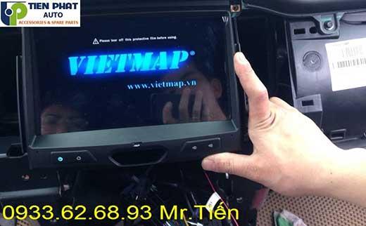 Lắp Đặt Màn Hình DVD Theo Xe Cho Ford Ranger Bản Wildtrak Đời 2016