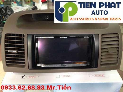 Lắp Đặt Màn Hình DVD Zin Theo Xe Toyota Camry 2.4G Đời 2003 Tại Tp.Hcm