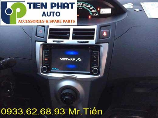 Lắp Đặt Màn Hình DVD Zin Theo Xe Toyota Yaris 1.5G Đời 2008 Tại Tp.Hcm