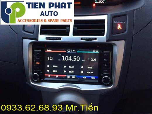 Lắp Đặt Màn Hình DVD Zin Theo Xe Toyota Yaris 1.5G Đời 2009 Tại Tp.Hcm