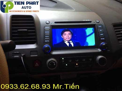 Lắp Đầu Máy DVD Zin Theo Xe Honda Civic Đời 2010-2011 Tại Tp.Hcm