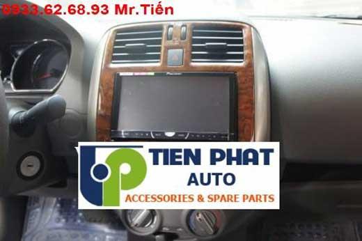 Lắp Đầu Máy DVD Zin Theo Xe Nissan Sunny Đời 2014 Tại Củ Chi Uy Tín Nhanh