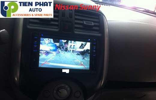 Lắp Đầu Máy DVD Zin Theo Xe Nissan Sunny Đời 2014 Tại Tp.Hcm