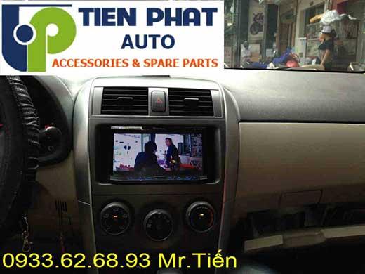 Lắp Đầu Máy DVD Zin Theo Xe Toyota Altis Đời 2010-2011 Tại Hà Nội