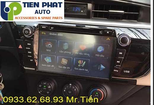 Lắp Màn Hình DVD Cao Cấp Theo Xe Toyota Altis Đời 2014 Tại Tp.Hcm