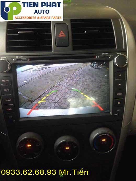 Lắp Màn Hình DVD Zin Theo Xe Toyota Altis Đời 2008-2009 Tại Tp.Hcm