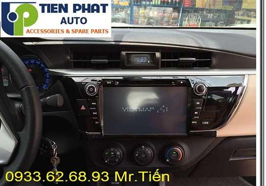 Lắp Màn Hình DVD Zin Theo Xe Toyota Altis Đời 2015 Tại Tp.Hcm
