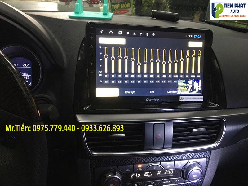 Màn Hình DVD Android Cắm Sim 4G Cho Xe Mazda CX-5