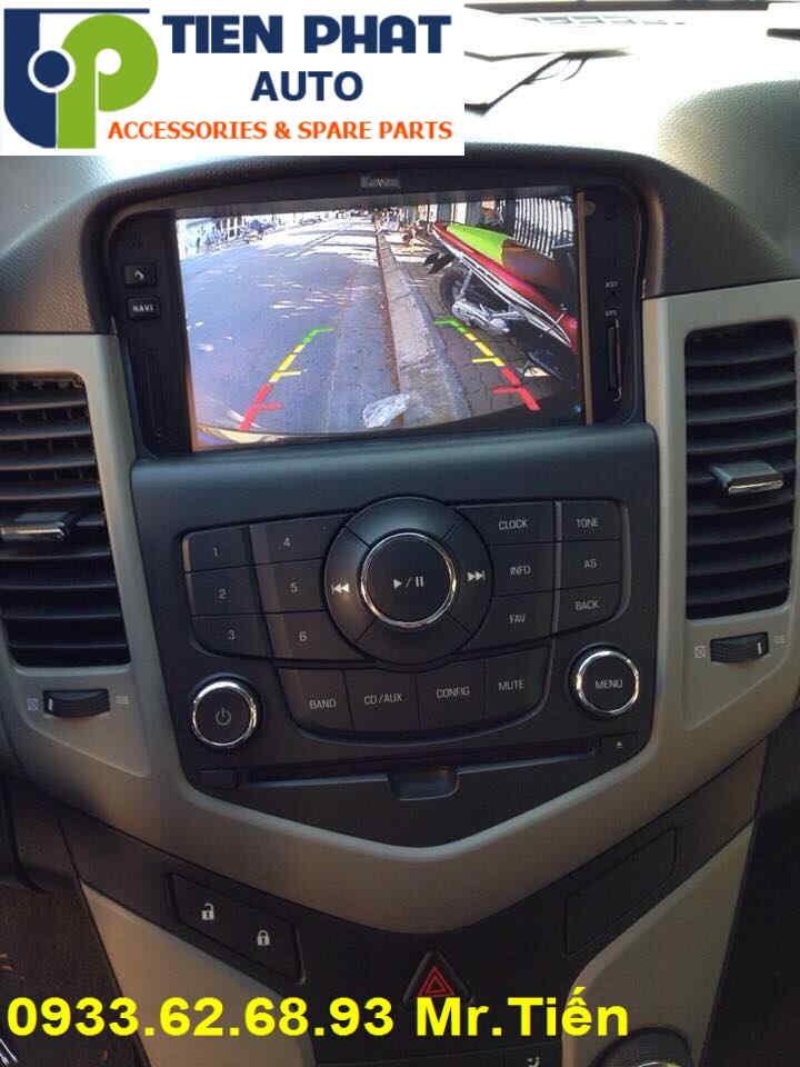Màn Hình DVD Zin Theo Xe Cho Chevrolet Cruze LTZ Đời 2010 Tại Tp.Hcm