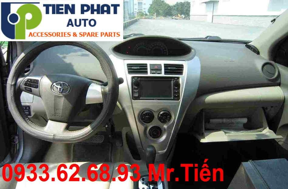Màn Hình DVD Zin Theo Xe Toyota Vios 1.8G Đời 2007 Tại Tp.Hcm