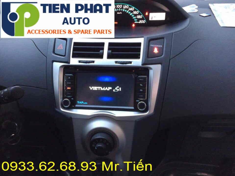 Màn Hình DVD Zin Theo Xe Toyota Yaris 1.5G Đời 2011 Tại Tp.Hcm