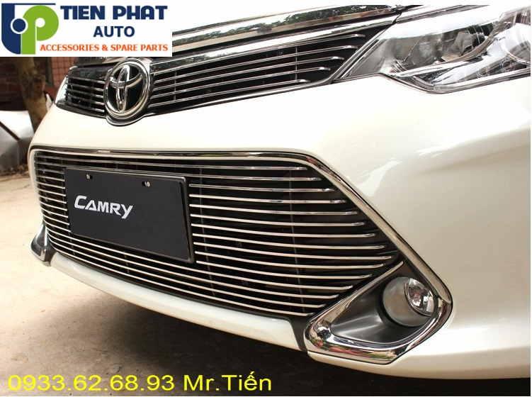 Mặt Ca Lăng Độ Cho Xe Toyota Camry 2015-2016 Tại Tp.Hcm