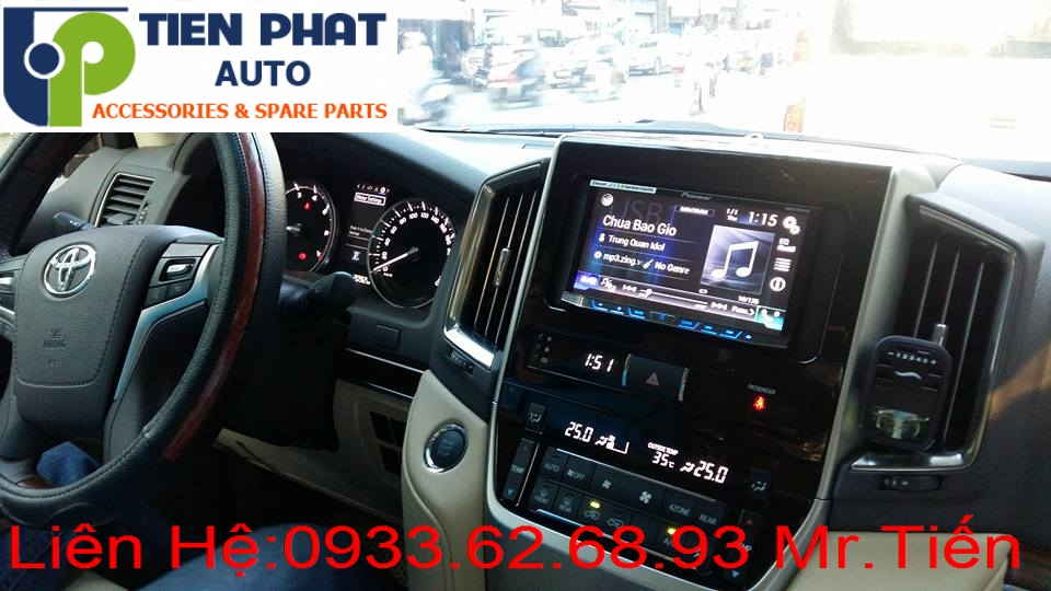 Sửa Chữa Màn Hình Cảm Ứng DVD,CD Ô Tô Cho Xe Toyota Land Cruiser Tại Tp.Hcm